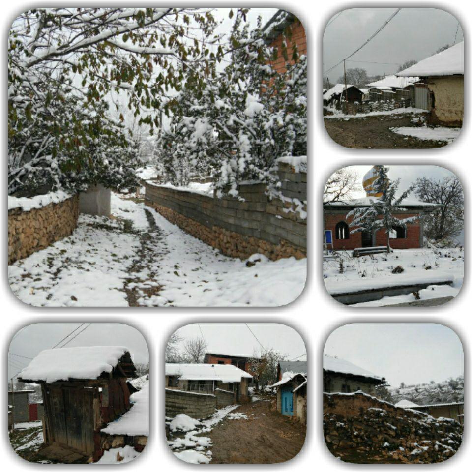 برف پاییزی 1395