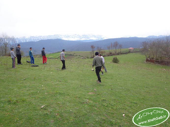 تصاویر بازی محلی گالی کا